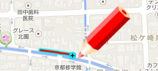 線の継ぎ足し説明図1